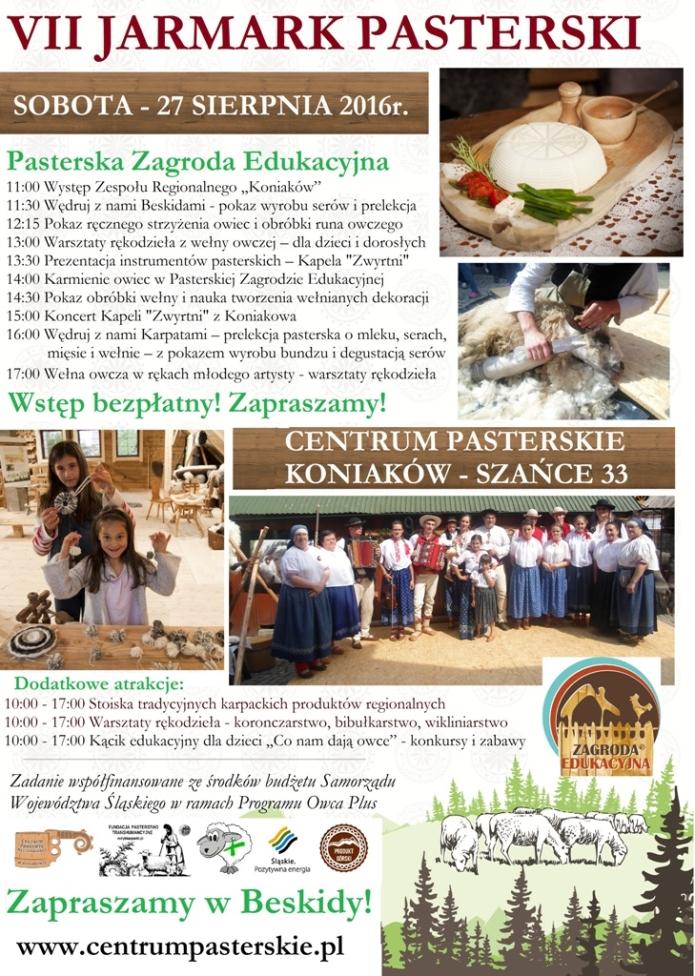 Zaproszenie Jarmark Pasterski